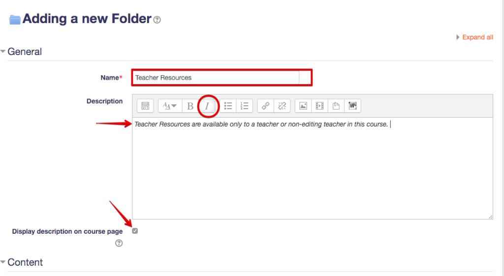 Teacher Resource Folder